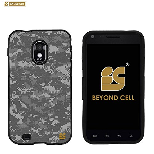 PhoneAidCase® For Samsung Galaxy S II ( S2 ) Epic 4G Touch D710 (SPH-D710) 4.52 inch CDMA ( Sprint / Boost Mobile / Virgin Mobile / US Cellular ) Art Design Image Hard Slim Fit Cellphone Case Cover Light Weight 2 Pieces Easy Snap on Durable Cell Phone Cases - Army Digital Camouflage Design (Samsung Galaxy S2 Virgin Mobile compare prices)