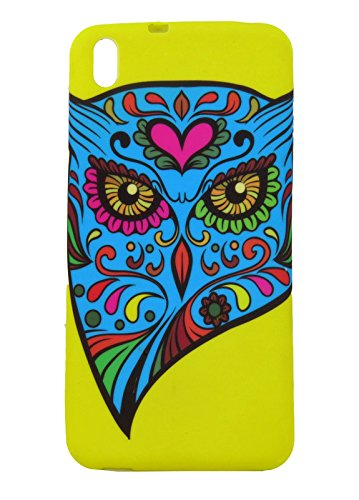 ImagineDesign Premium Back Case Cover for HTC DESIRE 816 / 816G (The Owl Inside Us)