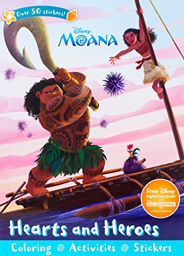 Disney Moana Hearts and Heroes