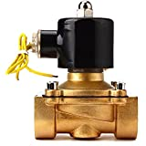 "AC110V 1"" Solid Coil Electric Solenoid Valve Gas Water Fuels Air Solid Coil"