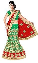 Vaishali TexStile Women's Net Unstitiched Dress Material 1076_Multicolor