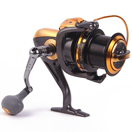 YOMORES 12+1 Ball Bearings Left/right 4.6:1 Metal Fishing Reels Spinning