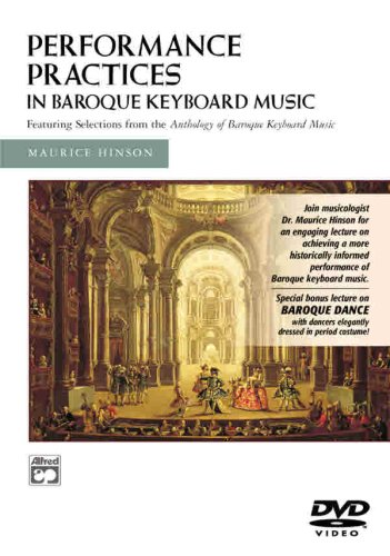 Performance Practises In Baroque Keyboard Music [DVD]