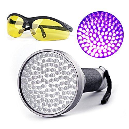 escolite black light 100 uv led blacklight flashlight portable handheld for cat pet urine. Black Bedroom Furniture Sets. Home Design Ideas