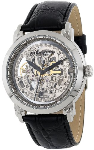 Stuhrling Original Men's 165AL.33151 Classic Winchester Mechanical Movement Skeleton Watch
