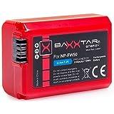 """Bundlestar * BAXXTAR PRO-ENERGY batterie de qualité pour Sony NP-FW50 avec les infos puce - système de batterie intelligente - 100% compatible """"prochaine génération"""" pour Sony ILCE QX1 Alpha 5000 5100 6000 Alpha 7 -- Sony CyberShot DSC RX10 -- Sony NEX-6 NEX-F3 NEX-7 NEX-7B NEX-7C NEX-7K NEX-3 NEX-3N NEX-C3 Nex-5 NEX-5N NEX-5K NEX-5R -- SLT A55 A33 A35 A37 A3000"""