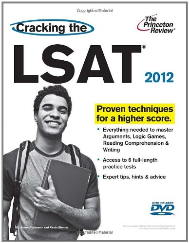 Cracking the LSAT with DVD, 2012 Edition (Graduate School Test Preparation)