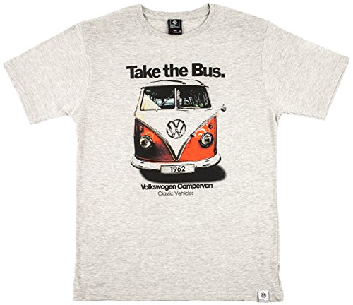 mens-take-the-bus-vw-campervan-t-shirt-new-exclusive-volkswagen-official-licensed-product-large-grey