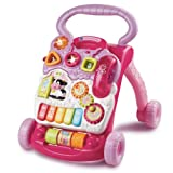 Vtech First Steps Baby Walker Pink From Debenhams
