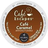 Café Escapes Keurig K Cups, Caramel, 24 Count