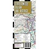 Streetwise Italian Lake District Map - Laminated Regional Map of the Italian Lake District