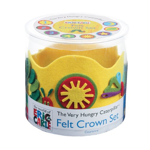 Mudpuppy Eric Carle The Very Hungry Caterpillar Felt Crown Set