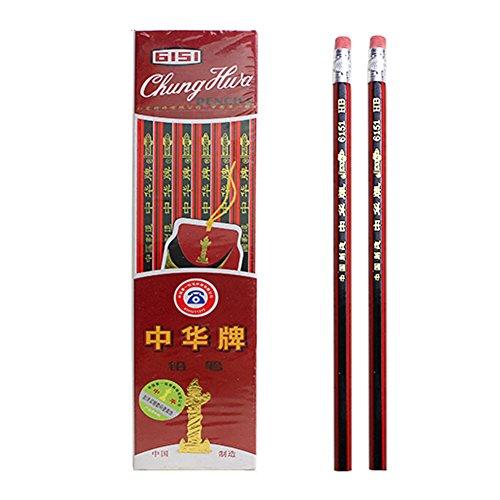 set-de-3-crayons-hb-hexagonale-a-crayons-gommes-bois-tube-noir