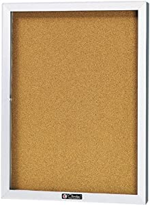 24 x 18 Bulletin Board Cabinet by Claridge