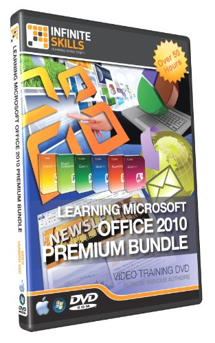 Discounted Premium Bundle - Microsoft Office 2010 Tutorial Dvd - Over 50 Hours Of Training