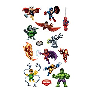 Super Hero Squad Wall Decal