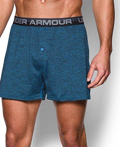 Under Armour Men's Original Series Twist Boxer Shorts, Brilliant Blue (787), Medium