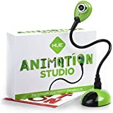 Hue Animation Studio für Windows-PCs & Mac (grün): komplettes Stop-Motion-Animation-Kit mit Kamera