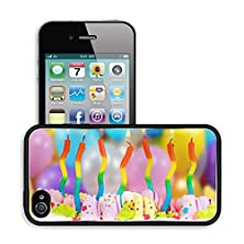 buy Luxlady Premium Apple Iphone 4 Iphone 4S Aluminum Backplate Bumper Snap Case Image Id 30944499 Birthday Cake With Candles On Bright Background