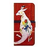 NiJiSuKe (ニジスケ) iPhone6s iPhone6 4.7 インチ 手帳型 ケース カバー チューリップ_カンガルー 革 / カード収納 / スタンド / スマホケース / 横開き 【 保護フィルム付 】