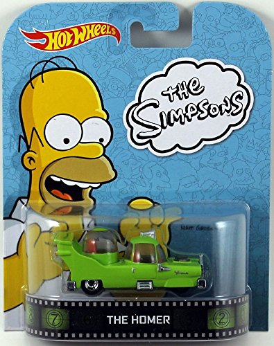 2014 Hot Wheels Retro Entertainment The Simpsons - The Homer