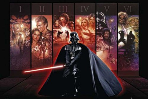 Empire Merchandising GmbH, Poster, motivo: Star Wars Anthology, Multicolore (Mehrfarbig)