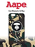 A BATHING APE A BATHING APE アベイシングエイプ AAPE iPhone6/iPhone6plus/iphone6s 保護殻 ケースカバー (iPhone6/6s, C) [並行輸入品]