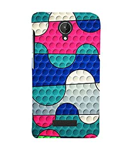 Animated Pattern 3D Hard Polycarbonate Designer Back Case Cover for Micromax Canvas Spark Q380