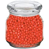 Red Hots in Pritchey Patio Glass Jar 8oz
