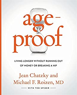 Book Cover: AgeProof: Living Longer Without  Running Out of Money or Breaking a Hip