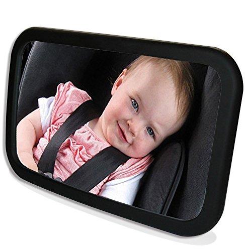 yacool baby car retour miroir si ge arri re face miroir b b vue s curit 360 adaptabilit. Black Bedroom Furniture Sets. Home Design Ideas