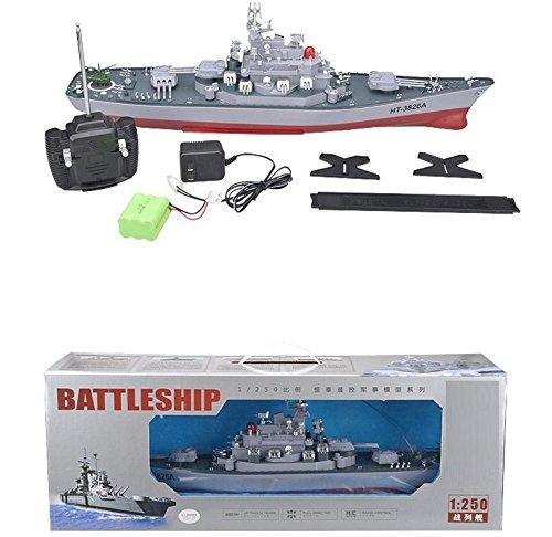 Original-1250-Bismarck-XXL-RC-ferngesteuertes-Schlachtschiff-Schiff-Modell-Kriegsschiff-Modellbau-Ready-To-Run-Komplett-Set-Inkl-Zubehr