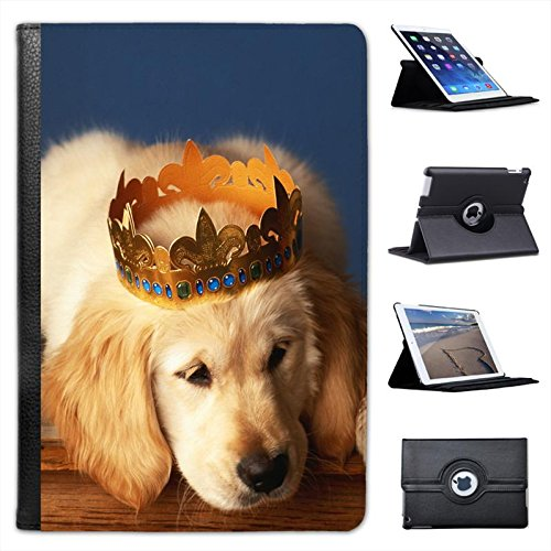 puppy-dog-with-gold-crown-for-apple-ipad-mini-ipad-mini-retina-leather-folio-presenter-case-cover-wi