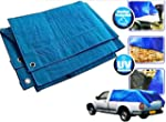 Heavy Duty Blue Tarpaulin Tarp Ground...