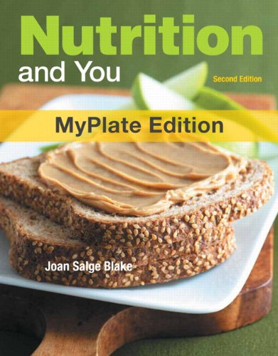 Nutrition And You, Myplate Edition, With Mydietanalysis With Masteringnutrition With Etext -- Access Card Package (2Nd Edition)