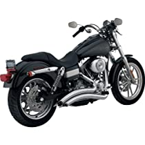 Vance & Hines Big Radius 2-Into-2 Exhaust System - Chrome , Color: Chrome 26013