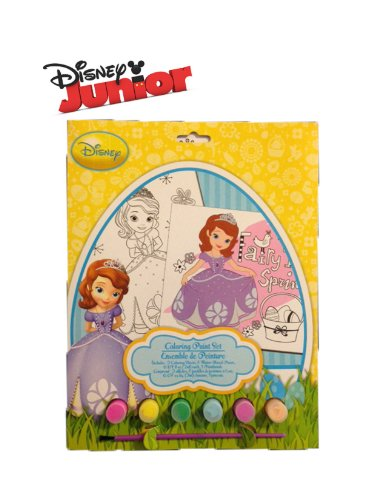 Disney Sofia the First Springtime Easter Paint Set - 1