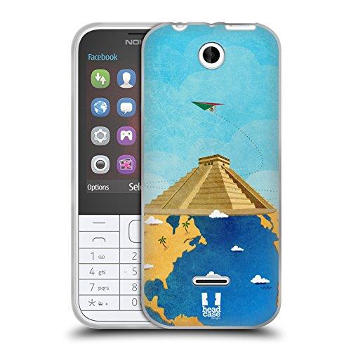Head Case Designs チチェン・イッツァ 世界旅行 ソフトジェルケース Nokia 225