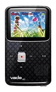 Creative Vado HD 4GB High Definition Pocket Camcorder with 2 inch LCD and HDMI Cable - 3rd Generation - Black