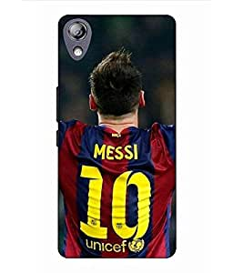 Snazzy Messi Printed Colorful Hard Back Cover For Lenovo P70