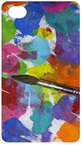 Artist Palet Back Cover Case for Apple iPhone4 / 4S