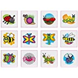 Insects, Bugs & Creepy Crawlies Temporary Tattoos Pack of 24 - Great Party Loot Bag Fillers