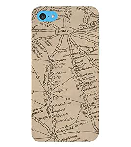 HiFi Designer Phone Back Case Cover Apple iPhone 6s Plus :: Apple iPhone 6s+ ( London Map Special )