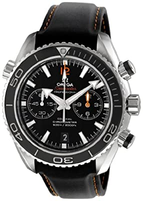Omega Men's 232.32.46.51.01.005 Seamaster Planet Ocean Black Dial Watch