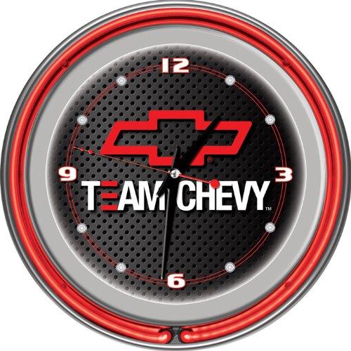 BSS - Team Chevy Racing 14 Inch Neon Clock