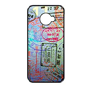 Vibhar printed case back cover for Sony Xperia M2 Postcard