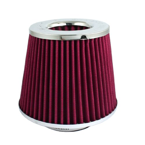 "Auto Car Truck Suv Universal Mesh 3"" 76Mm Air Intake Cone Filter back-164019"