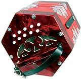 Scarlatti - GR4711R - accordeon SC-20R Concertina - Rouge