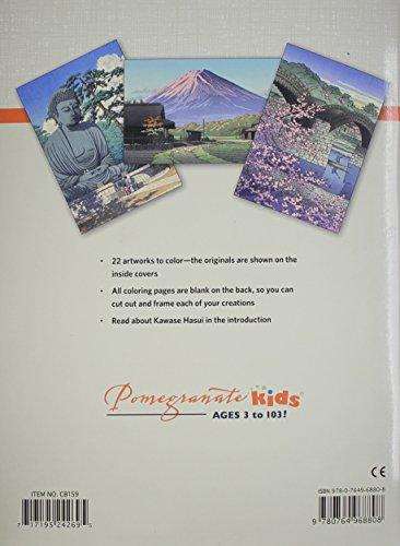Kawase Hasui Coloring Book CB159