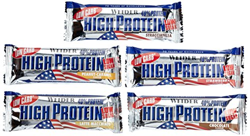 Low Carb High Protein Bar, Mix-Box, 1er Pack (25 x 50g)